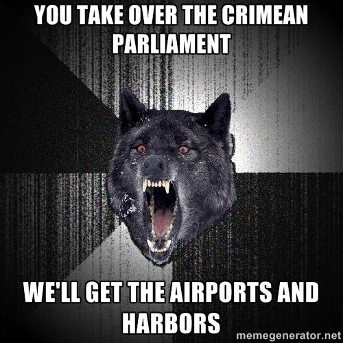 Crimean takeover