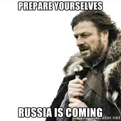 Russia is coming