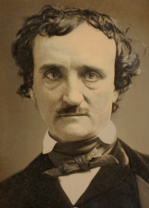 "Daguerreotype of Edgar Allan Poe, known as the ""Annie"" Daguerreotype."